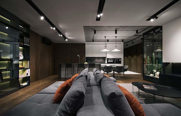 Madeira confere aconchego e conforto aos projetos modernos.