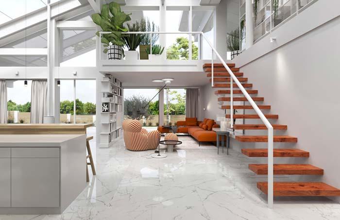 Casas modernas 100 modelos por fora por dentro e fotos for Design casa moderna