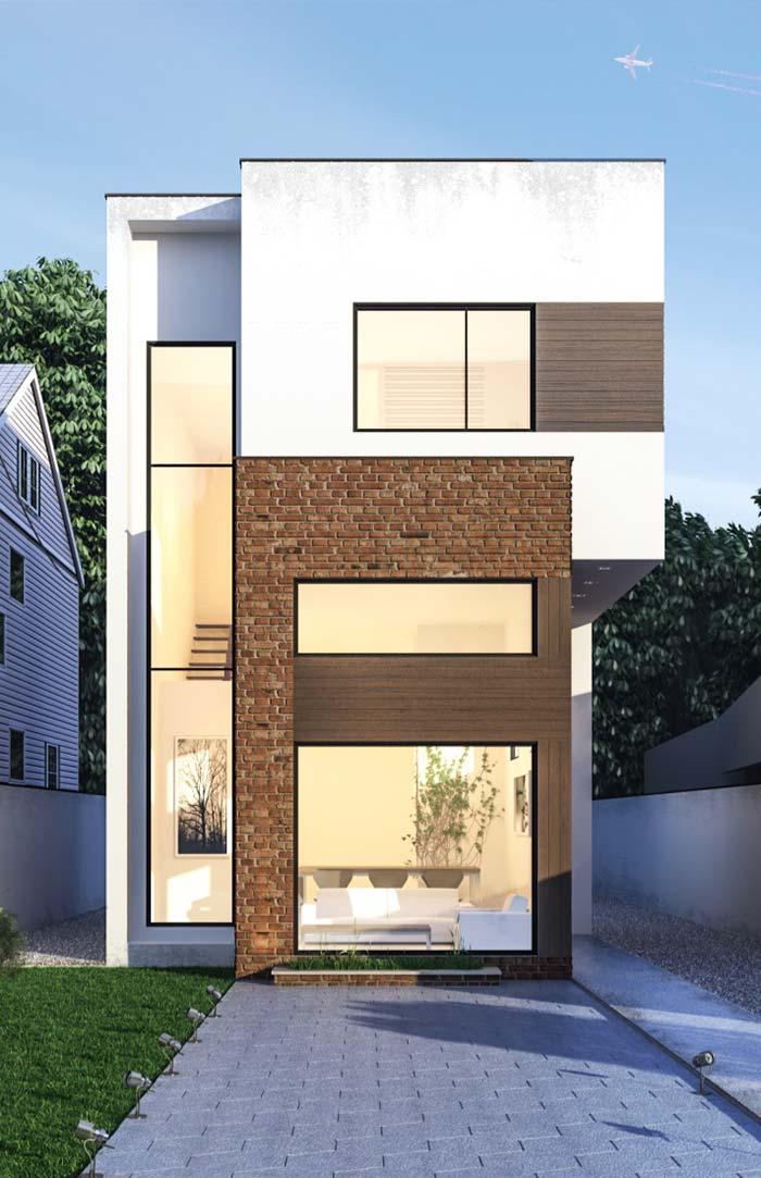 Casa Moderne And Design.Casas Modernas 100 Modelos Por Fora Por Dentro E Fotos