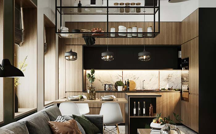 Ouse e busque inovações para a decoração moderna.
