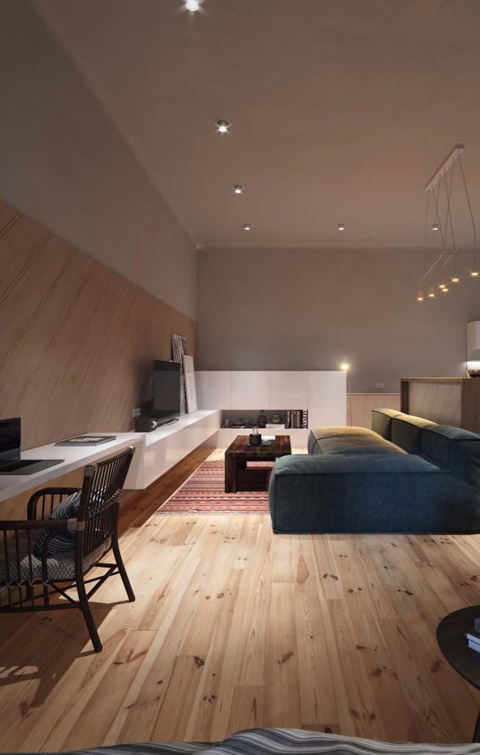 Armário, rack para sala e escrivaninha juntos