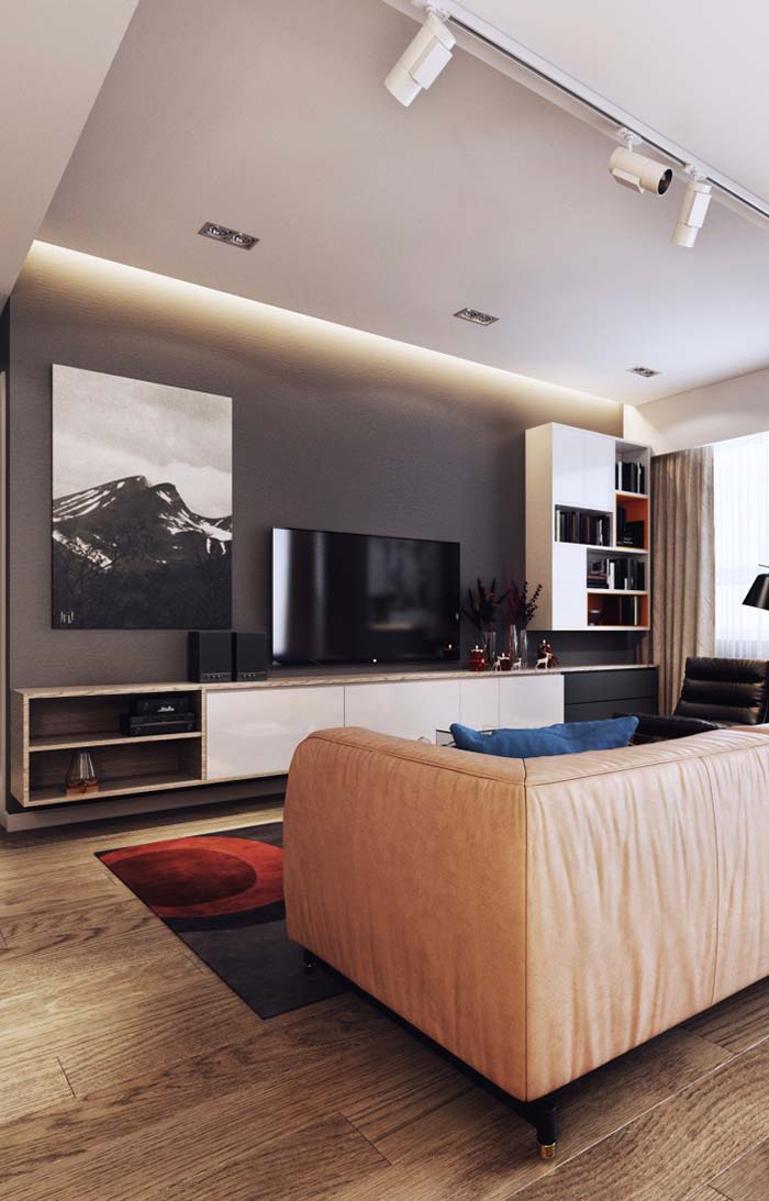 Rack para sala bonito e funcional