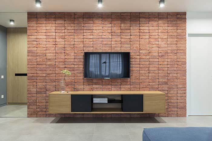 Rack para sala de visual simples