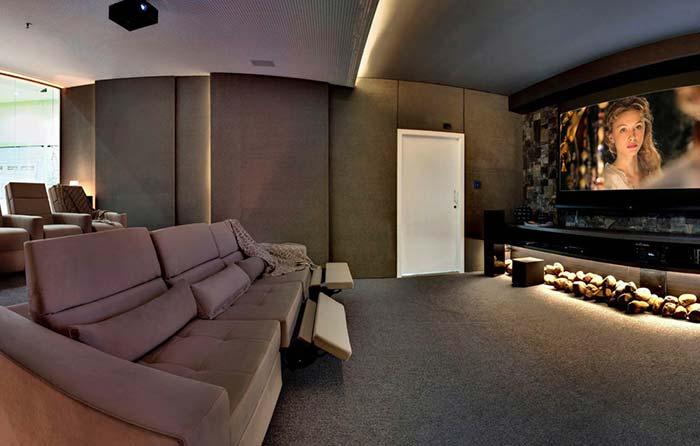 Sofá para cinema em casa