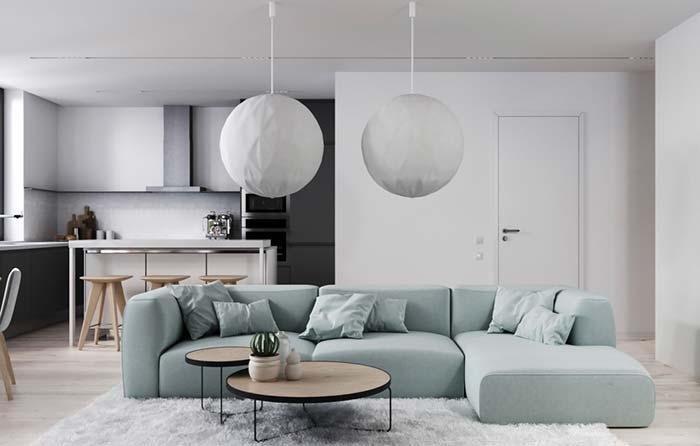 Modelos de sofá: 100 ideias e como escolher o modelo ideal