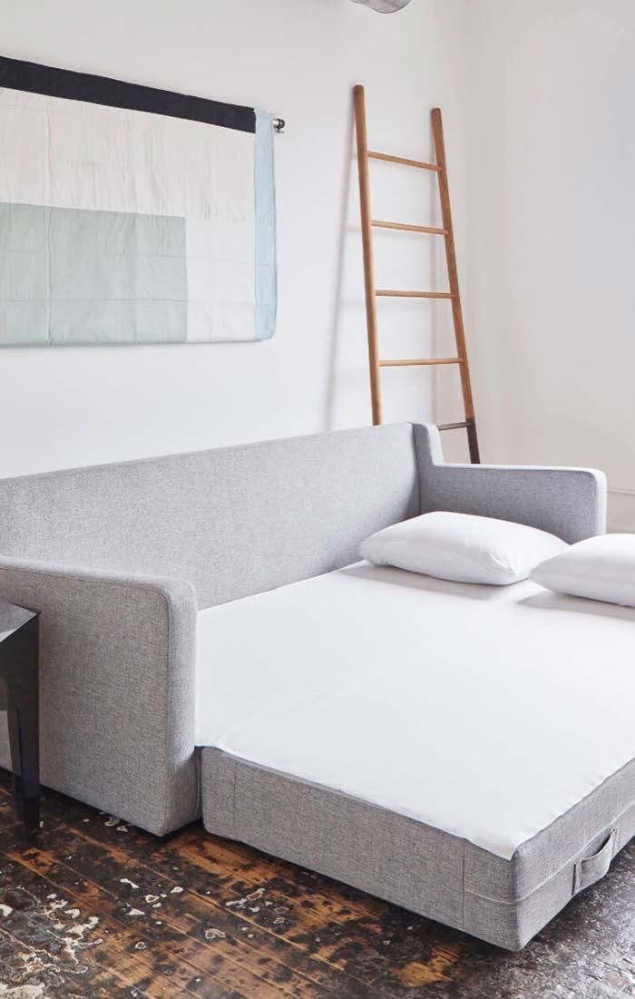 Tire as medidas da sua sala para ter certeza que o sofá caberá no espaço