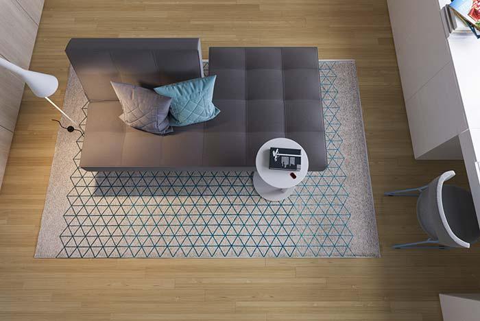 Sofá cama de design arrojado