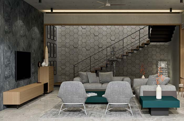 Modelos de sofás de 2 e 3 lugares