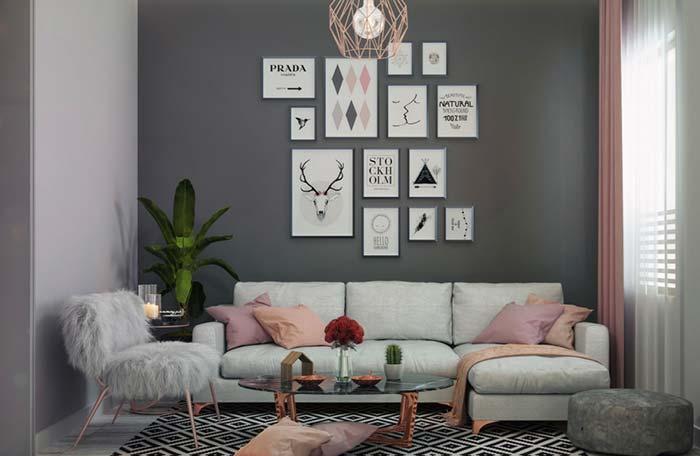 Modelo de sofá tradicional