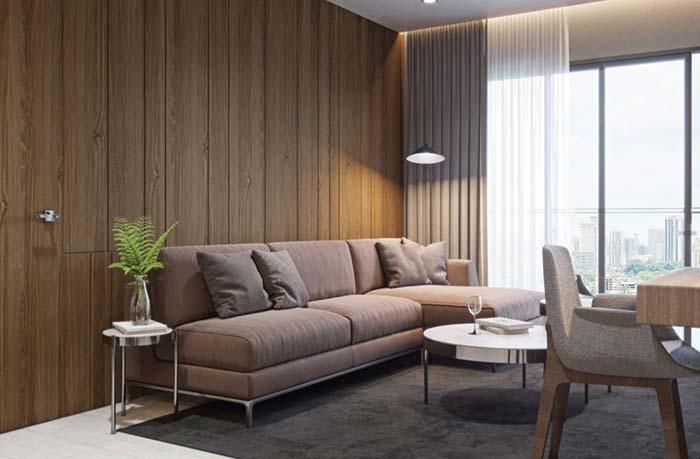 Sofá de chaise para sala
