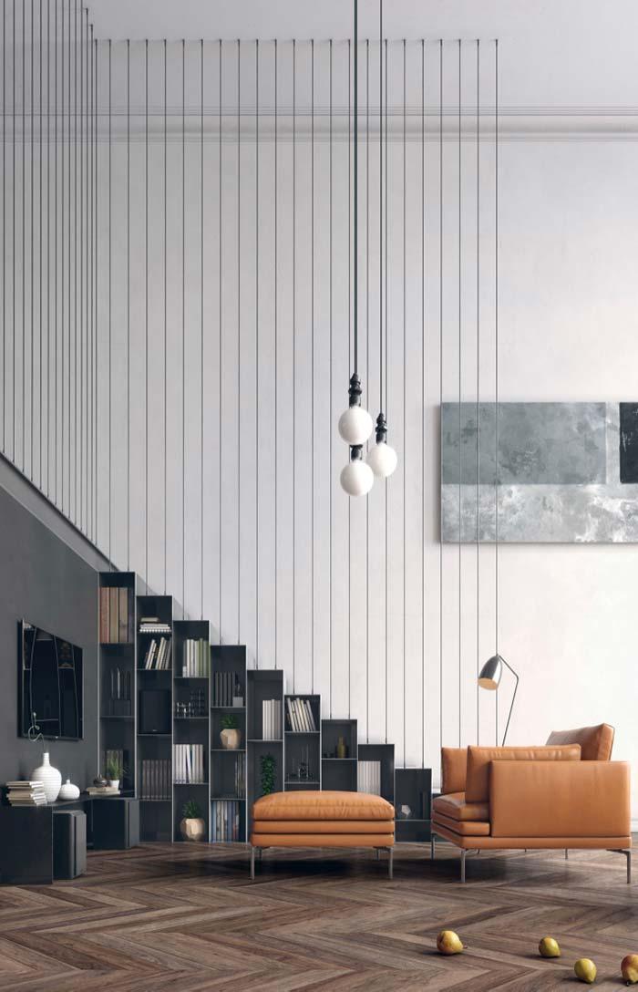 Modelo de sofá de couro