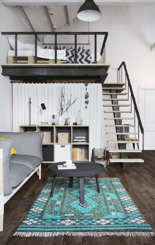 Decoraç u00e3o de Apartamento Pequeno 60 Ideias, Fotos e Projetos -> Decoração De Pequenos Apartamentos Fotos