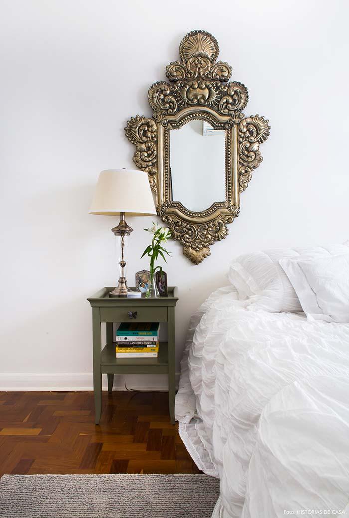 Espelho impactante para quarto
