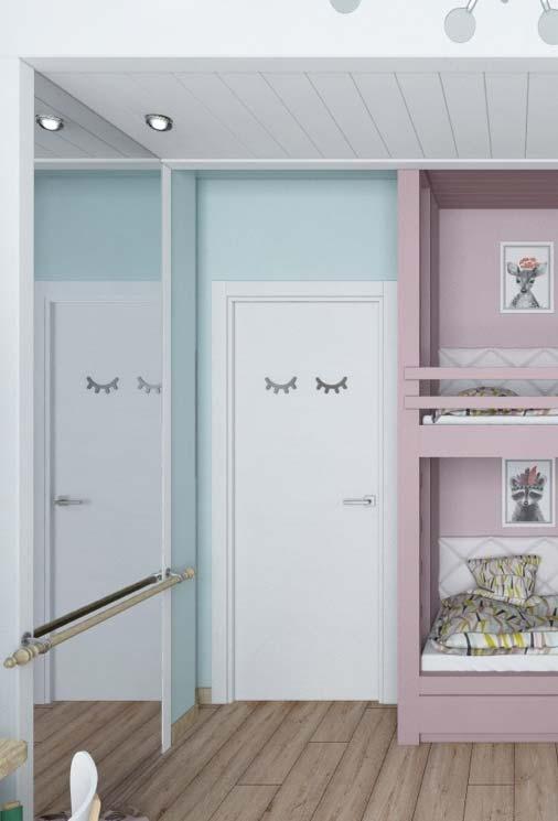 Espelho grande para quarto infantil duplo