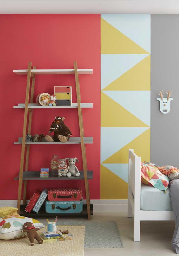 Já pensou em fazer o quarto de bebê vermelho?