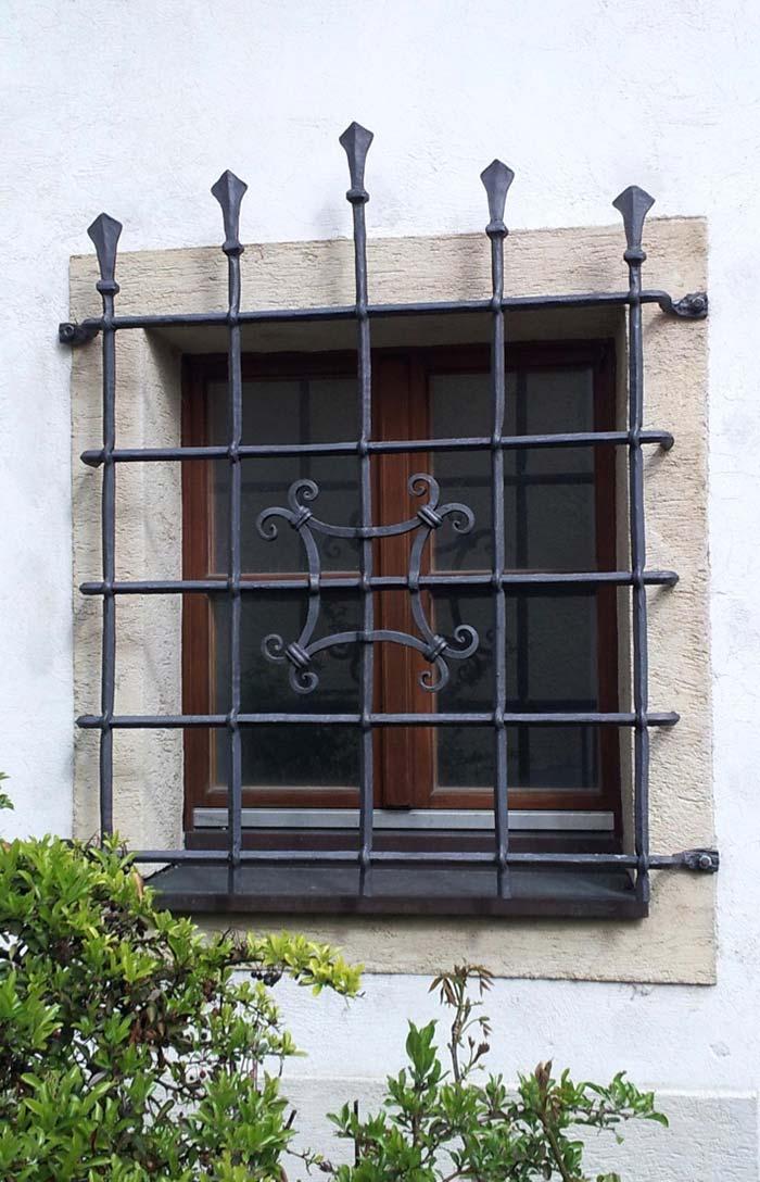 Grades para janela de ferro