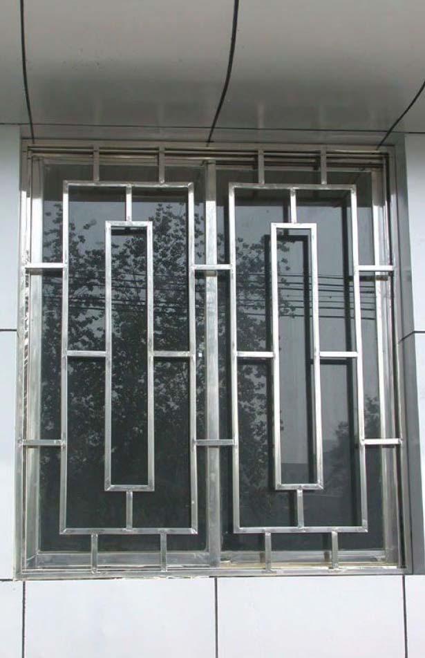 Grade de janela em alumínio