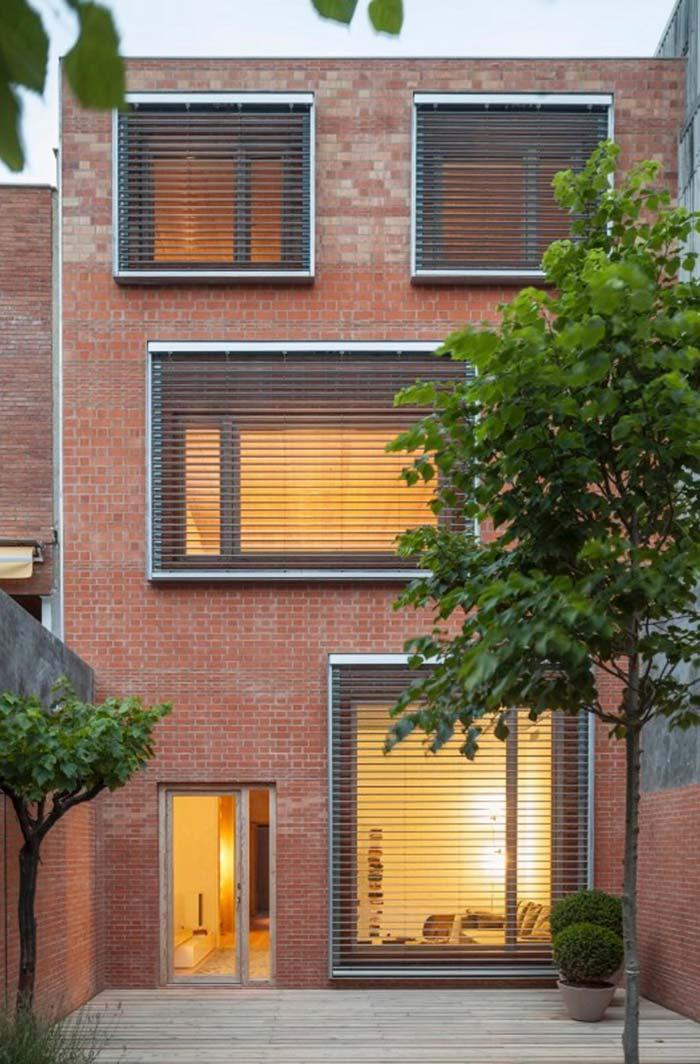 Grades para janelas em estilo persiana