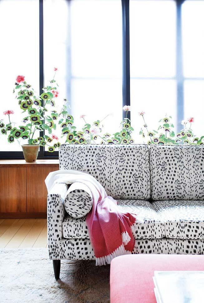Planta para sala com flor
