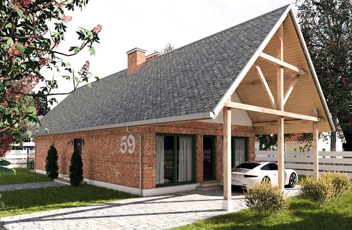 Casa de tijolinhos