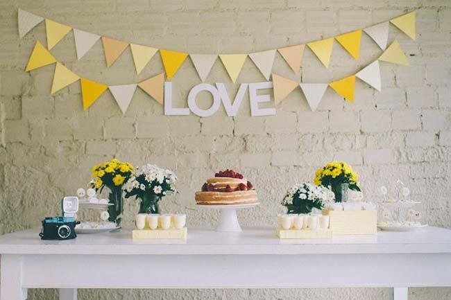 Decoração com margaridas para casamento barato