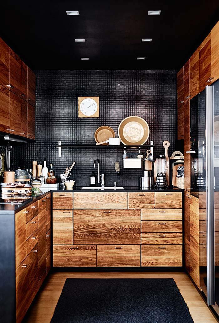 Armários para cozinha pequena planejados
