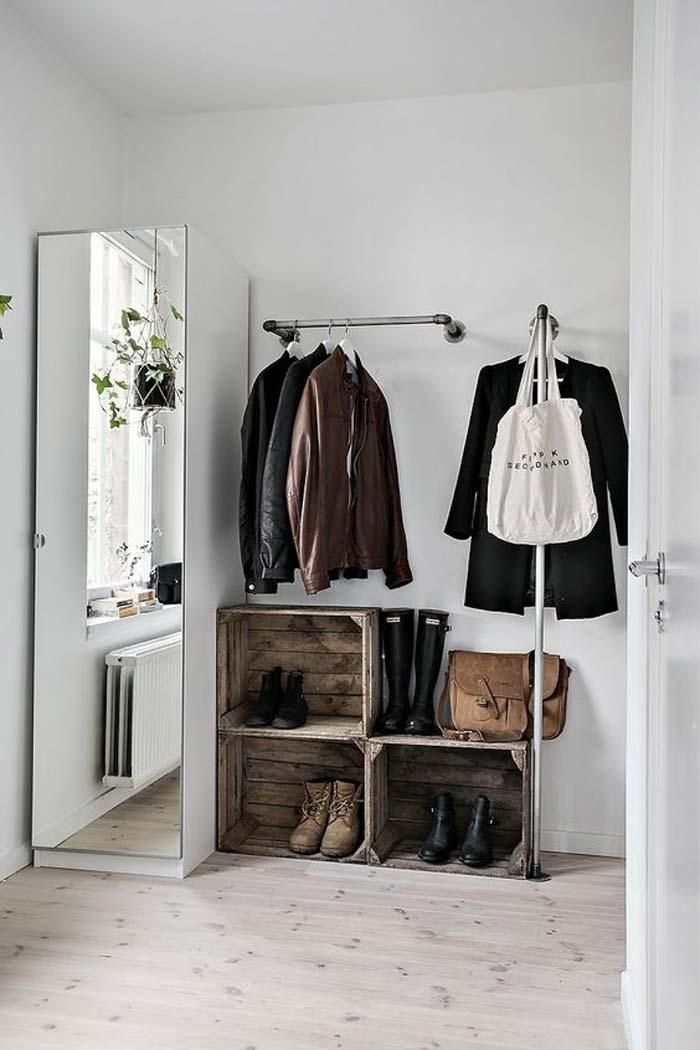 Espelho grande no closet