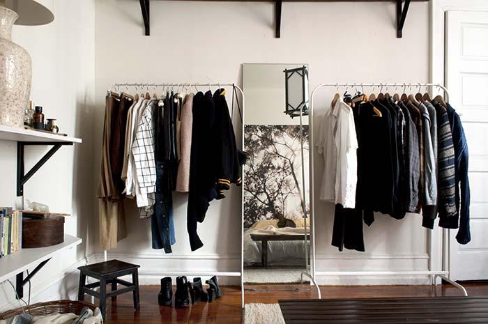 Closet barato: conheça 10 dicas e 60 ideias criativas para decorar