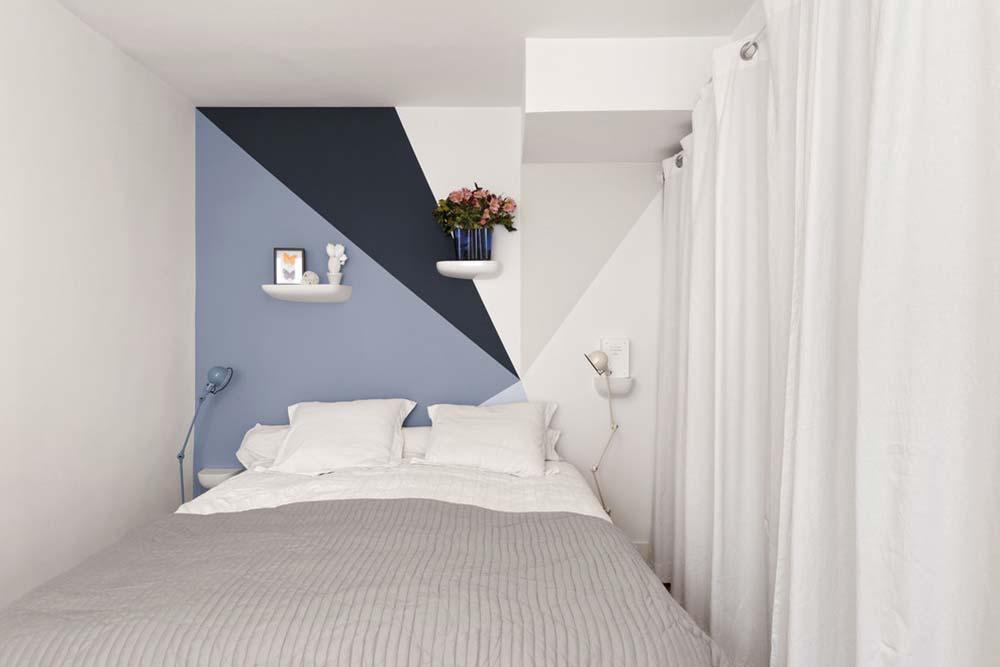 Branco na decoração do quarto