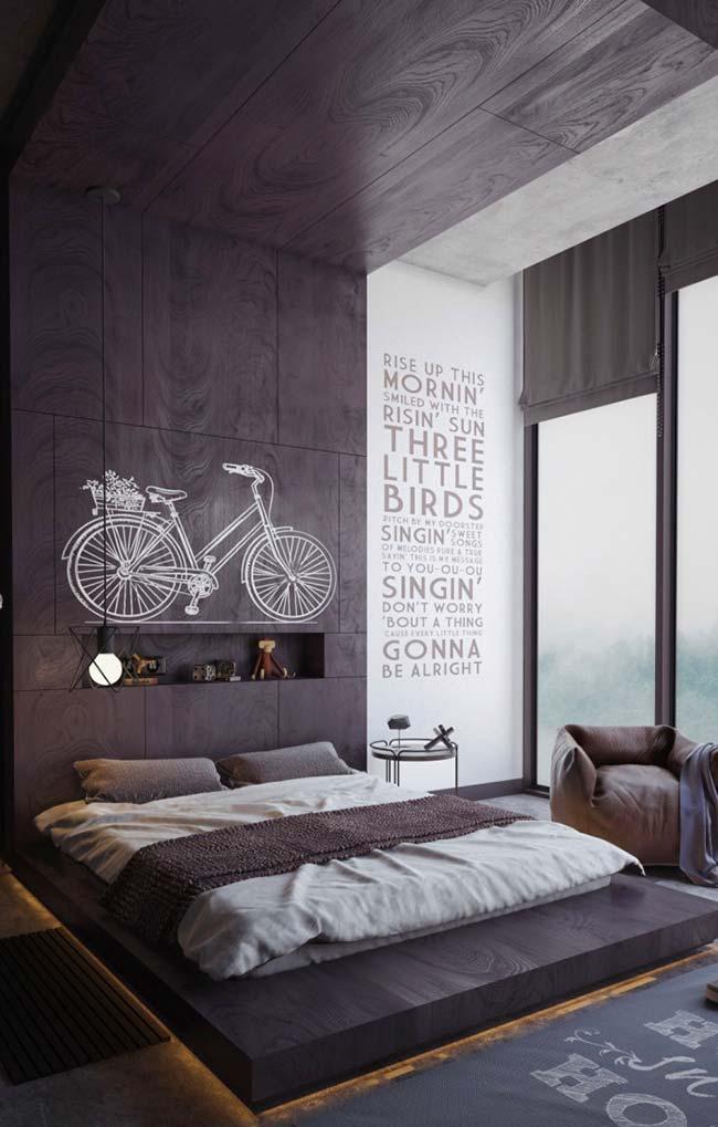 Cabeceira de cama japonesa