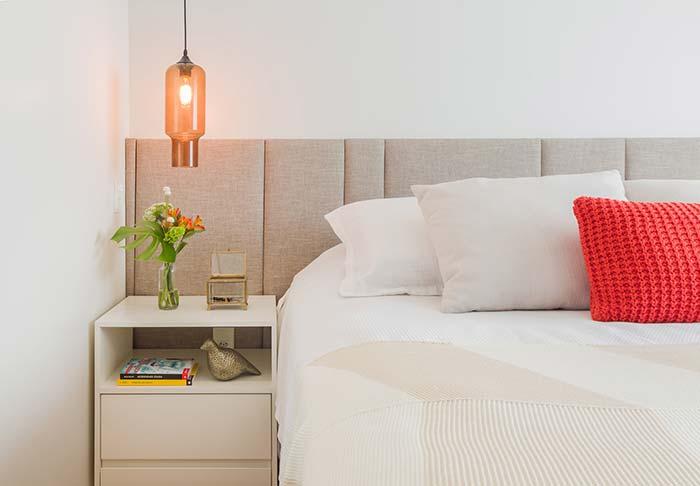 Cabeceira de casal: 60 modelos apaixonantes para decorar sua casa