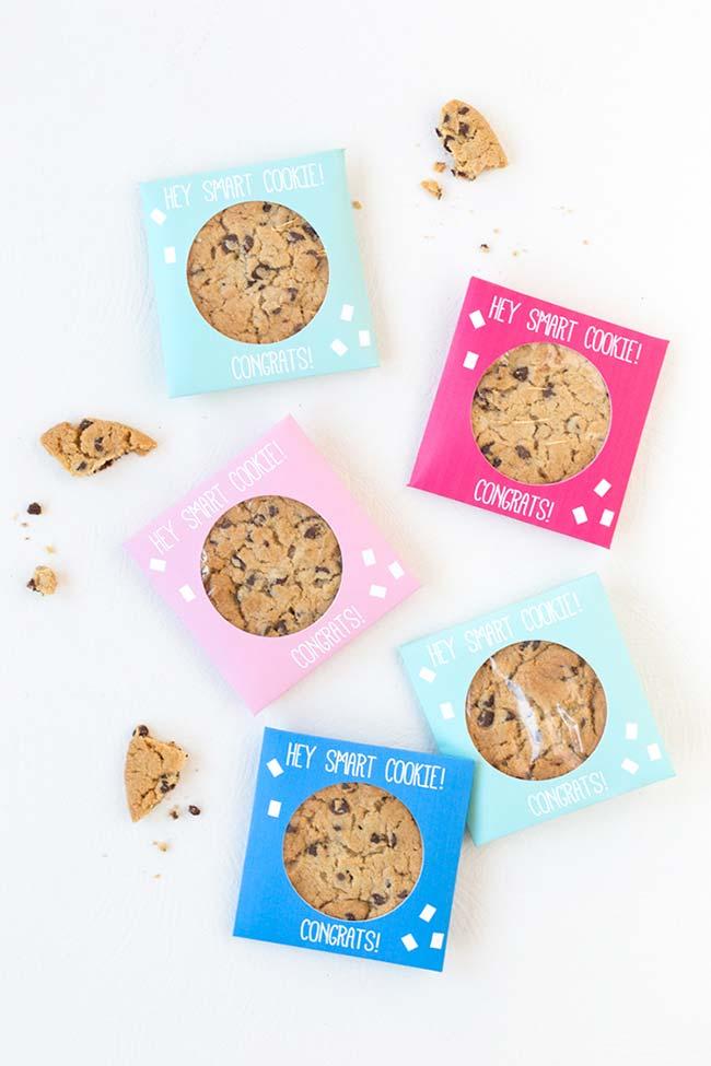 Cookies para festa formatura
