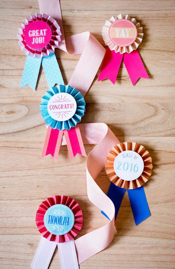 Medalhes para distribuir aos convidados