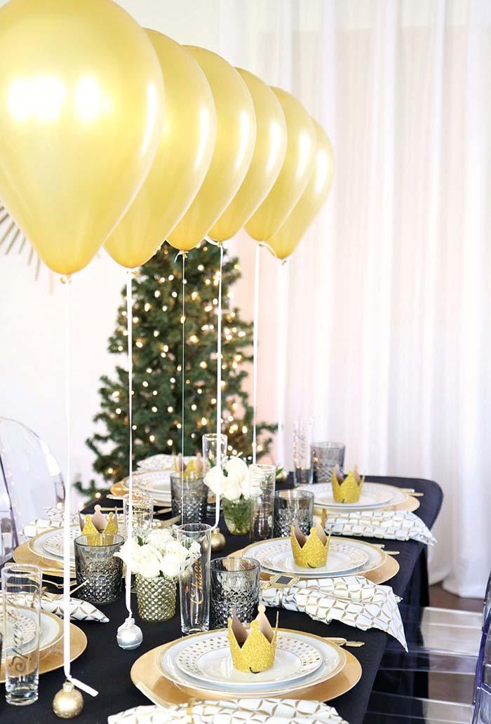 Balões para decoração de festa formatura