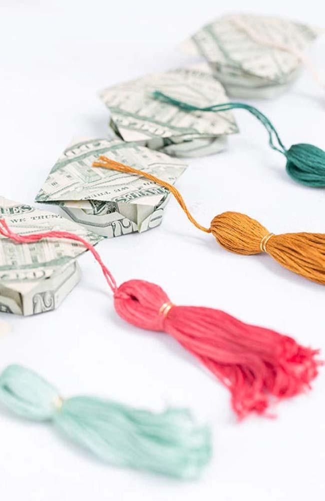 Dinheiro na festa de formatura