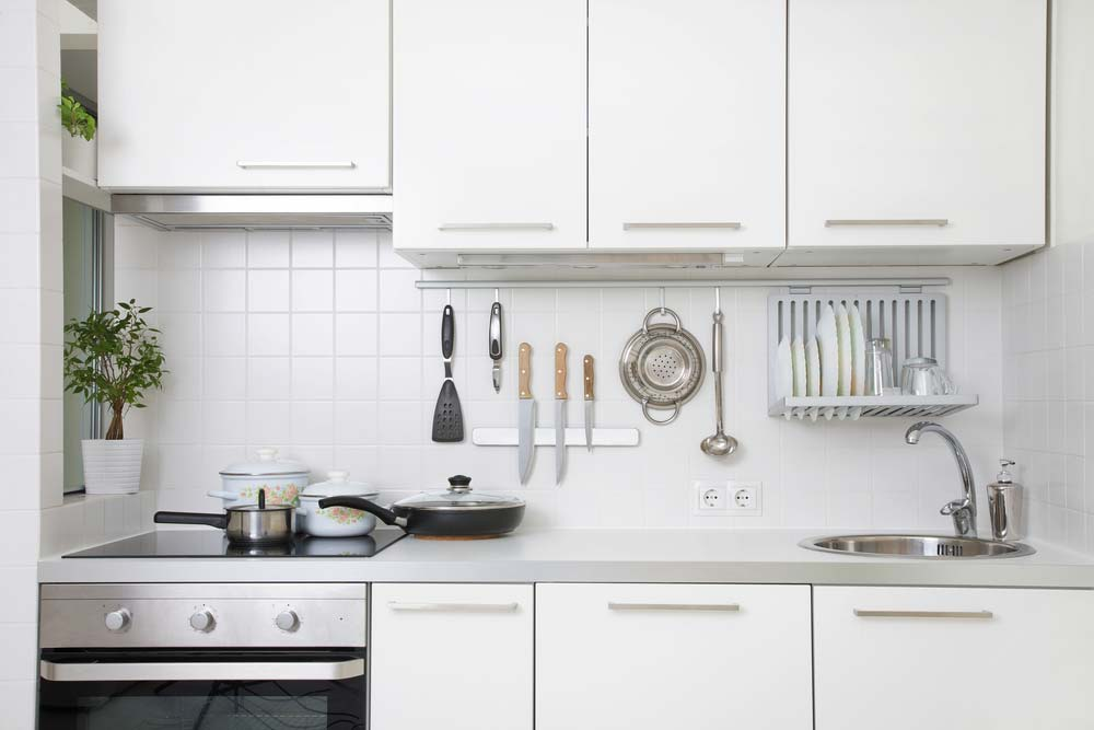 Cozinha clean pequena