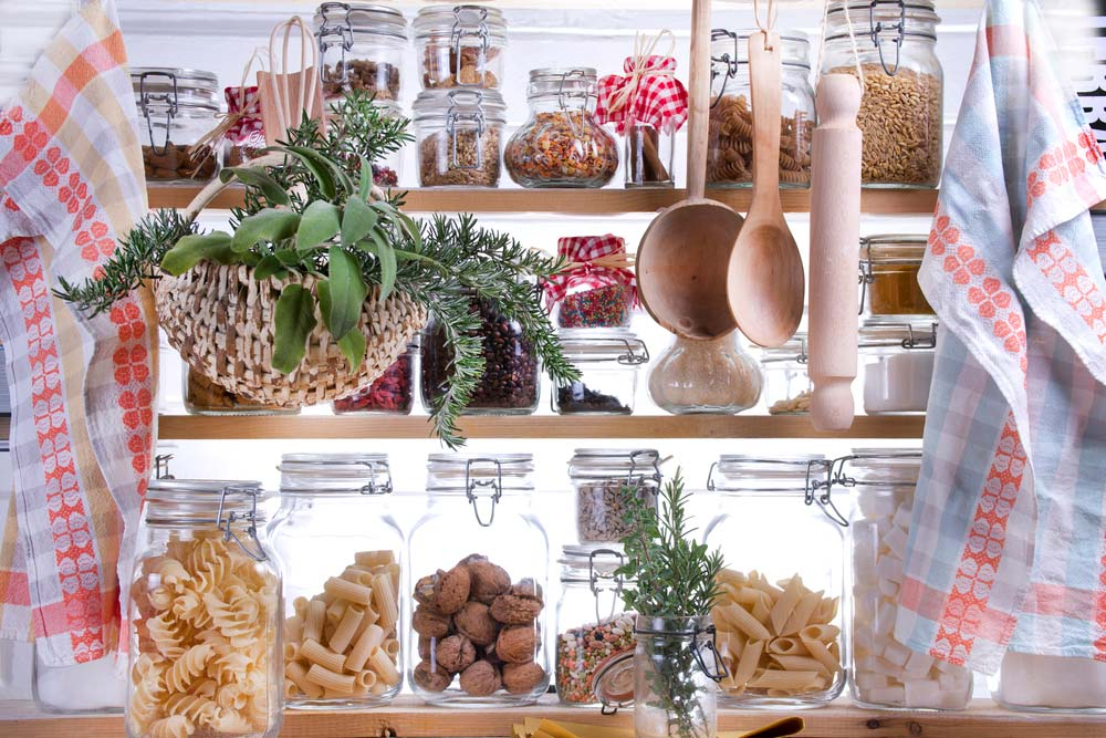 Despensa para cozinha pequena