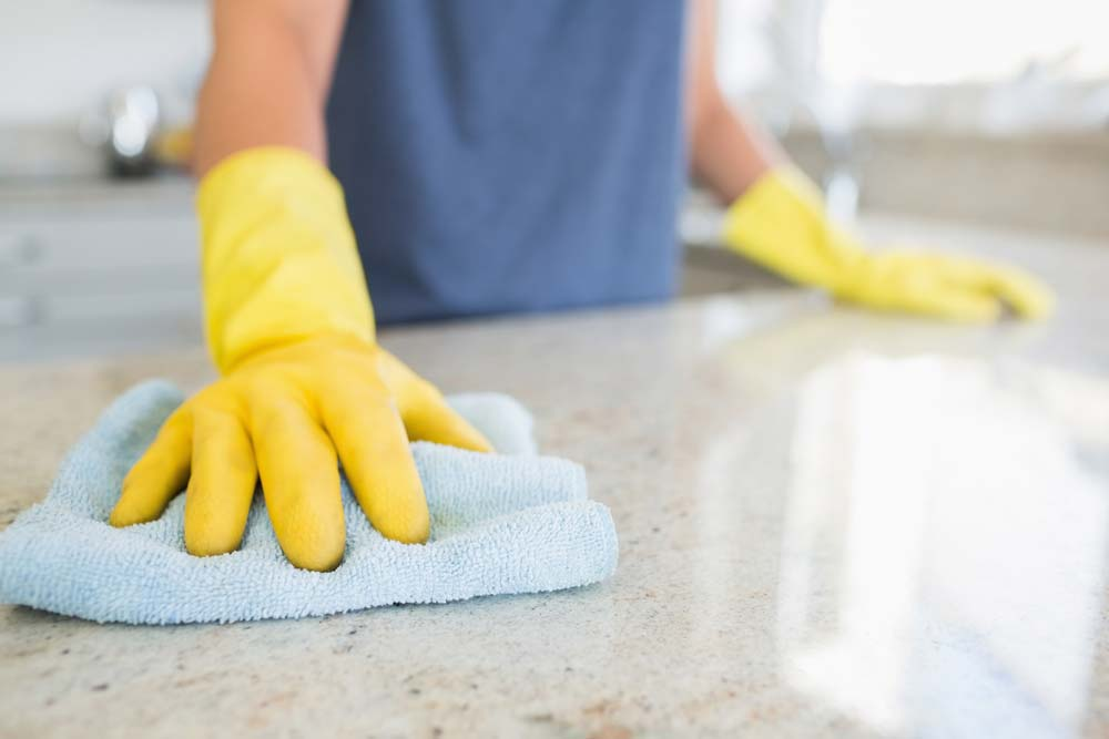 Limpeza de cozinha pequena