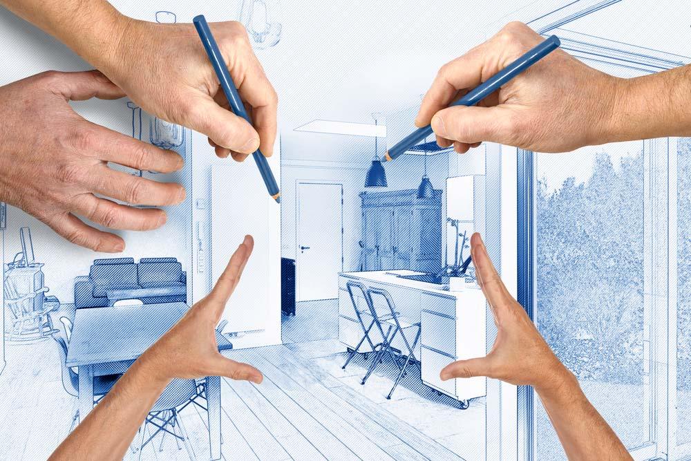 Como organizar cozinha pequena com móveis planejados
