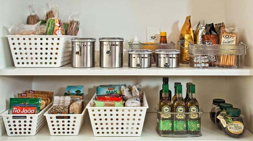 Organizadores para cozinha pequena