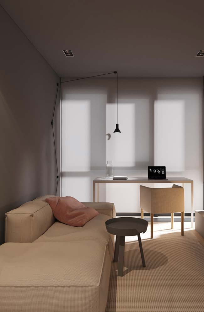 Luminária para sala do chão ao teto