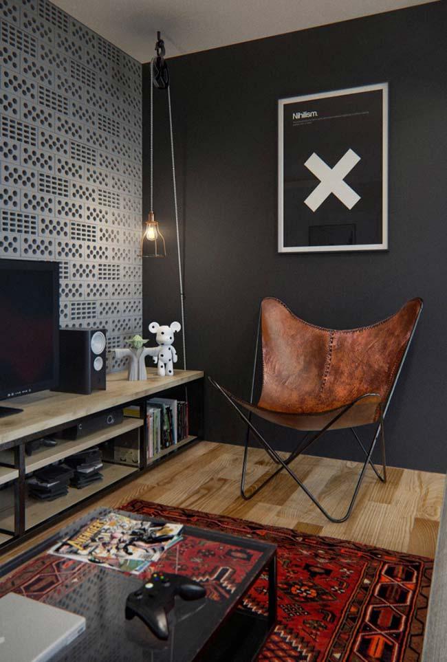 Luminária para sala simples