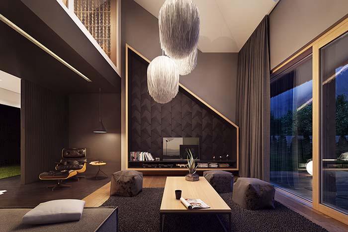 Luminárias para sala pendentes maiores