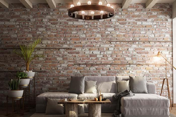Lustre estilo medieval para sala industrial