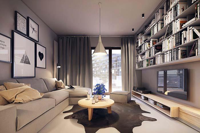 Luminária para sala: conheça 60 modelos criativos na decoração