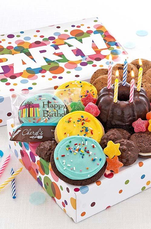 Mini festa cheia de doces