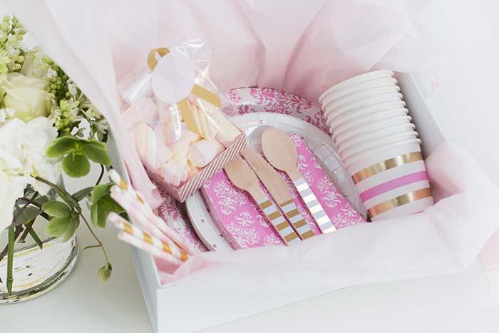 Marshmallows para deixar a mini festa mais doce