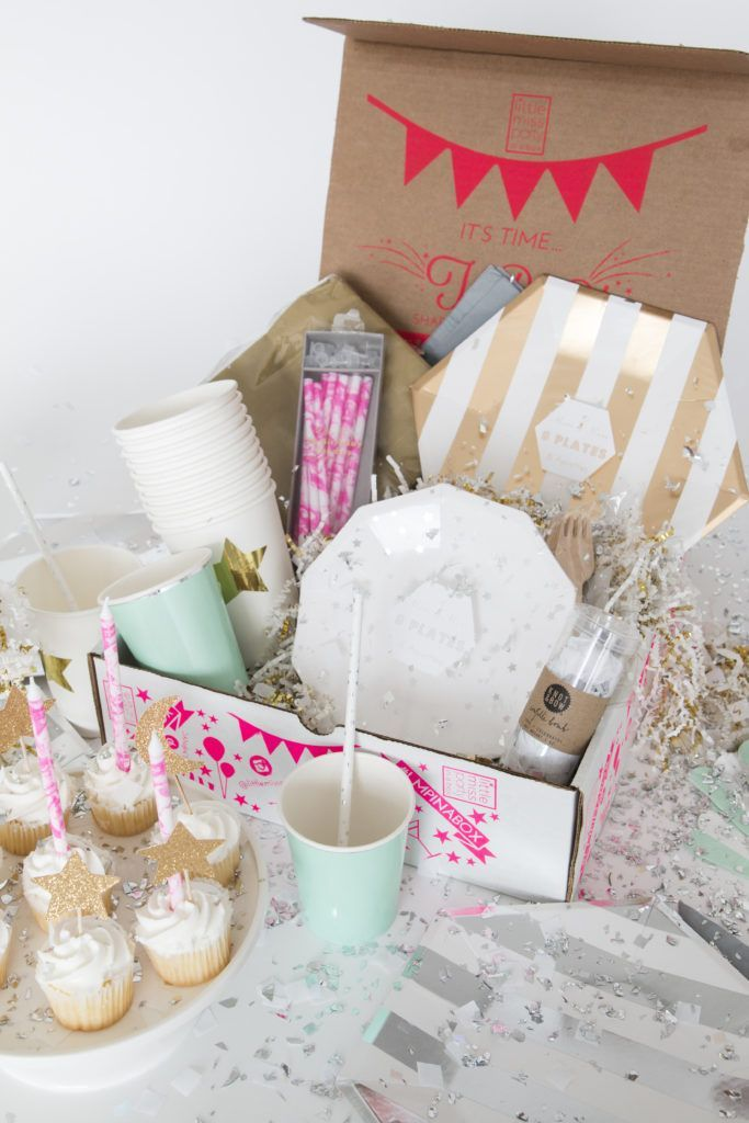 Ideia criativa de festa na caixa