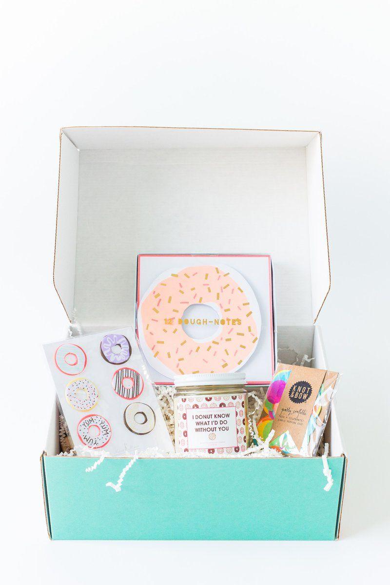 Donuts: o tema desta festa na caixa