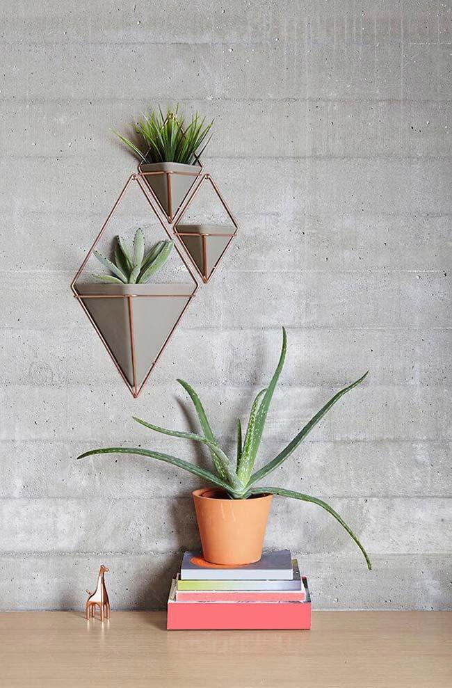 Vaso de cimento personalizado
